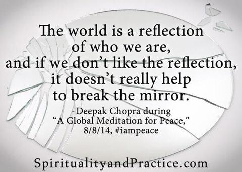 Still feeling so uplifted after today's global meditation. Thank you @DeepakChopra for delivering the message