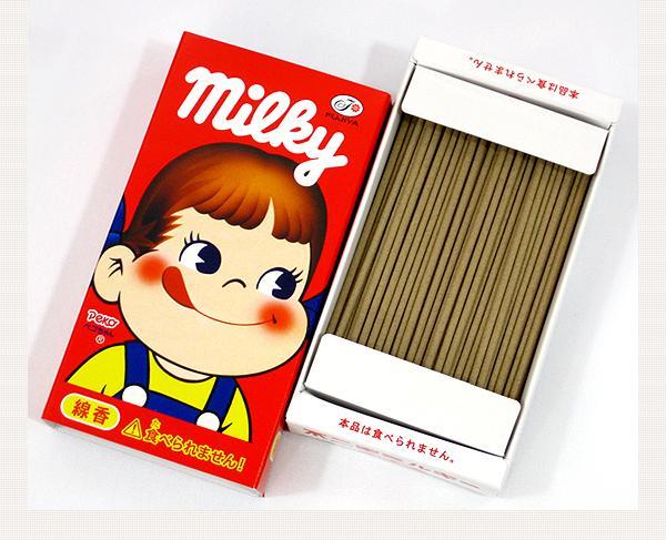 ミルキー線香とかあるんだ。甘い香りらしい。 http://t.co/MkvrnR1XDa