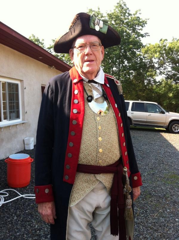 """Meet this """"American officer"""" at today's Goschenhoppen Folk Festival, starting at 20 AM. Off Route 73. http://t.co/HJiQ6VdSmM"""