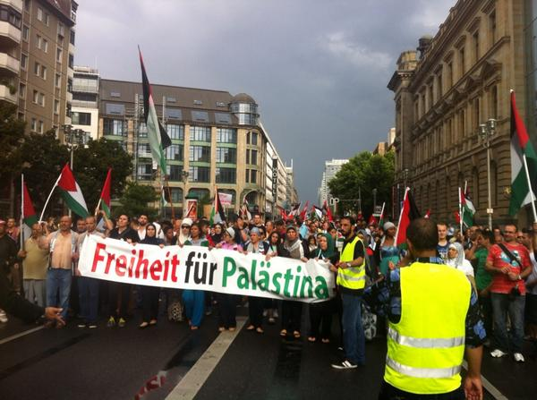 #Berlin now for #Gaza for #Palestine. http://t.co/A41jZ6pDPU