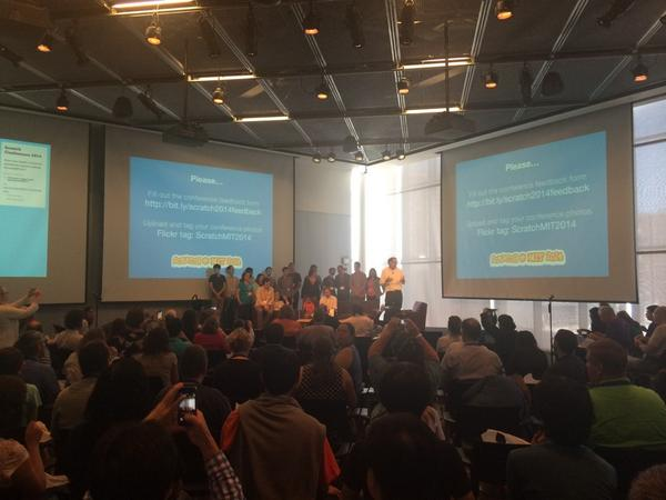 Thank you @scratchteam @mres and the rest for a wonderful #ScratchMIT2014 Bringing home great ideas to Sweden. http://t.co/c2ZKtgIHjC
