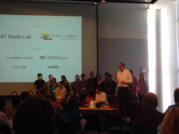 Closing plenary and lunch. Lotta #scratch love in the room. Thanks to all who made it possible #ScratchMIT2014 http://t.co/nwJ4Zv04Zl