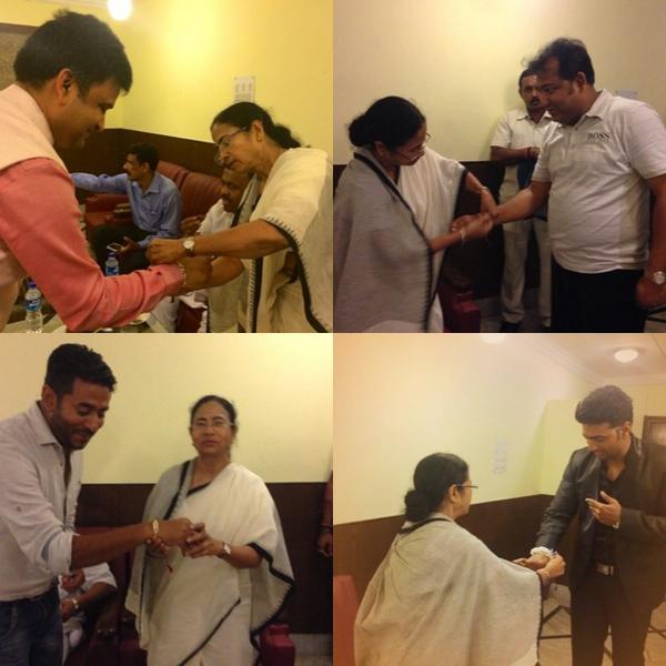রাখীবন্ধন ... @iammony @idevadhikari @iamrajchoco #Respect Didi >> http://t.co/hlZGEyDZto