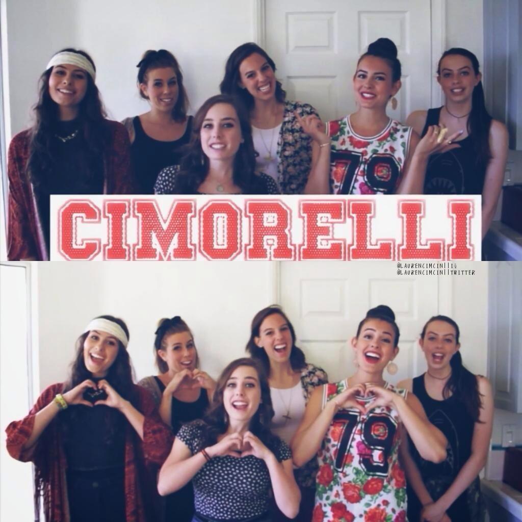 Cimorelli Updates