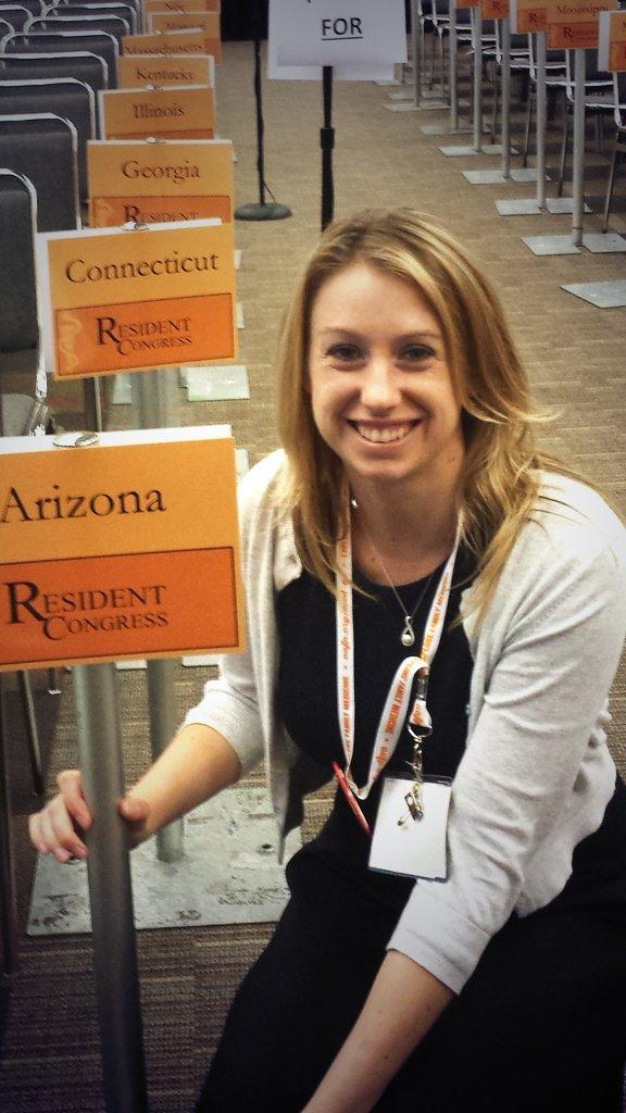 @AzAFP We had an amazing showing from AZ!   Lori submitted a great resolution on global and rural health! #aafpnc http://t.co/UROwyeAqMB