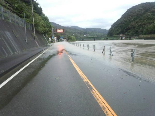 江川崎、四万十川があふれています。 pic.twitter.com/xp0AgB2js7