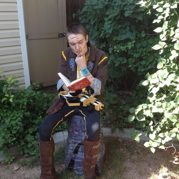 Rian On Twitter My Handsome Jack Pre Sequel Cosplay