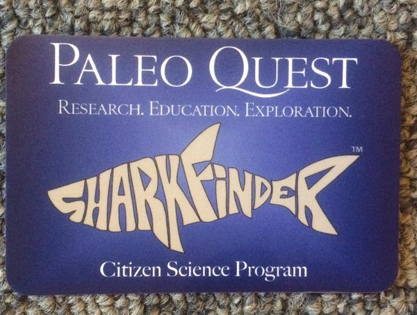 Check out citizen science project Shark Finder I learnt of at #scifoo - probably best logo ever! Cc @PaleoExplorer http://t.co/ccDLpieuxN