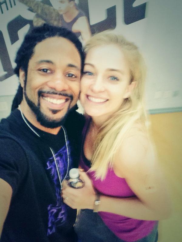 Day 2 of rehearsal w/ @jessicarichens was incredible... I can't wait 2 hit the stage next week during @DANCEonFOX :) http://t.co/zjYdy3wQyI