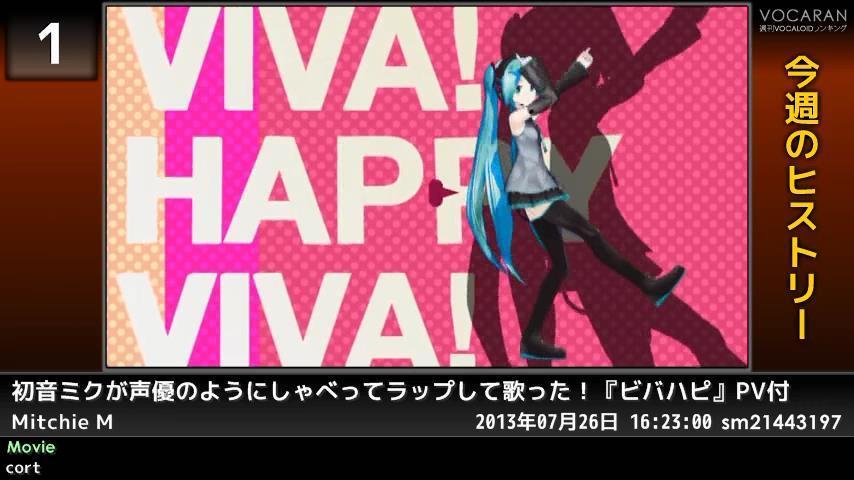 週刊VOCALOIDとUTAUランキング #357・299 [Vocaloid Weekly Ranking #357] BupnaotCIAEiIH6