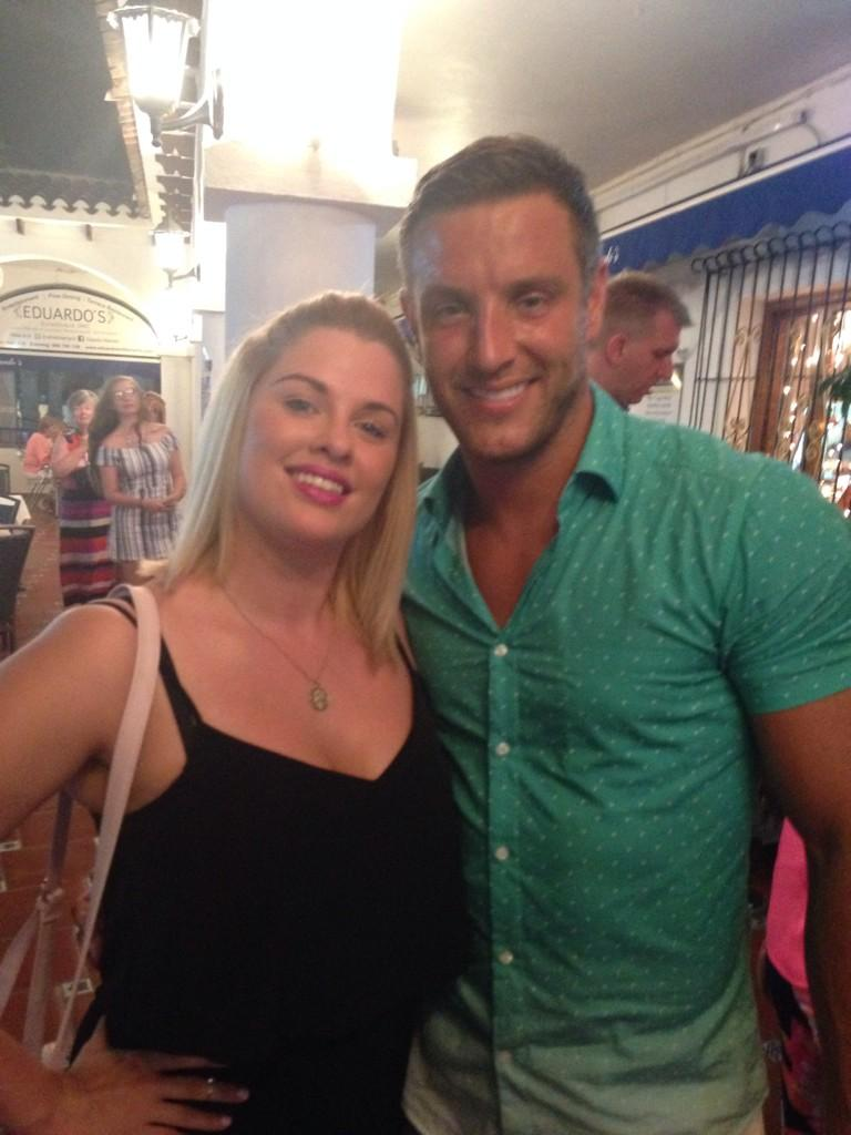 RT @Janemmgray: Lovely to meet you last night @elliottwright_  Food and atmosphere was excellent, thank you @eduardosgroup http://t.co/UlZc…
