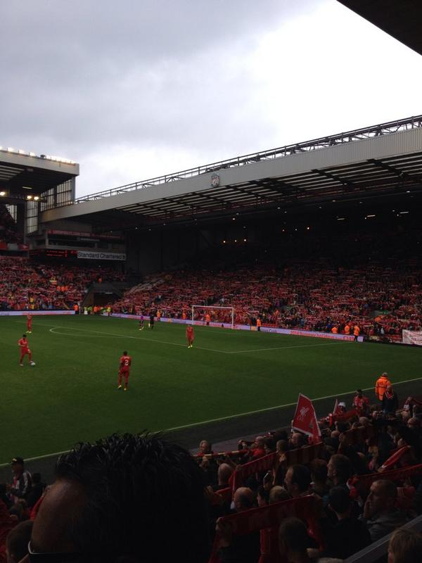 Watching #Liverpool!