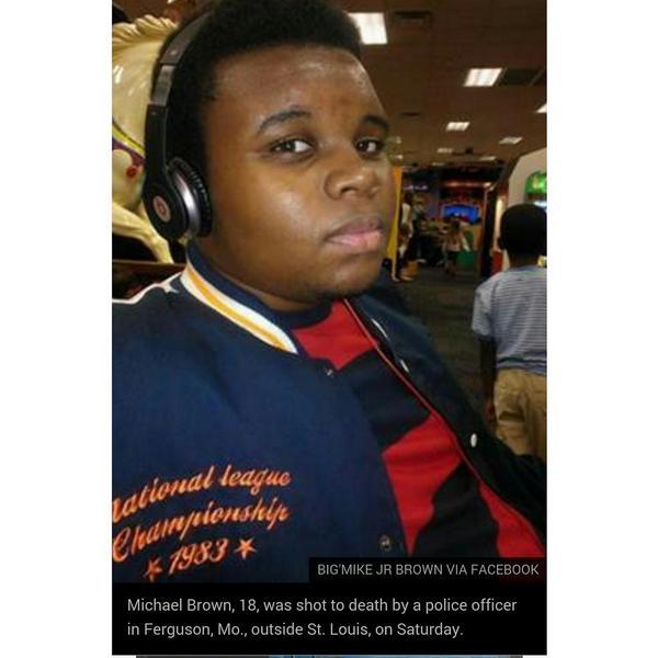 #JusticeForMichaelBrown http://t.co/T8kPcWNFSc