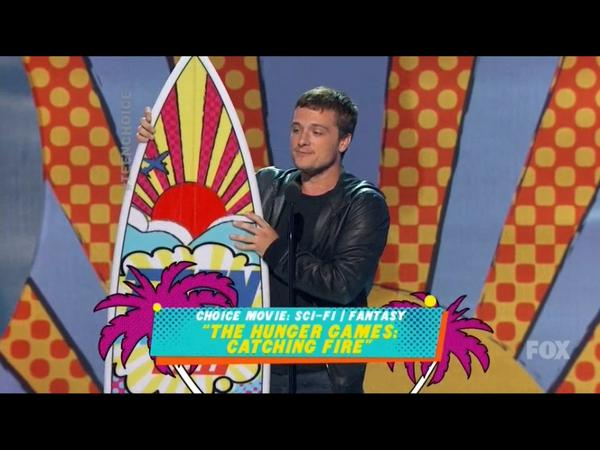 #JoshHutcherson wins Choice Movie Actor!!! #TeenChoiceAwards #TeenChoice #TCAs2014 http://t.co/P0A4c1FzsV