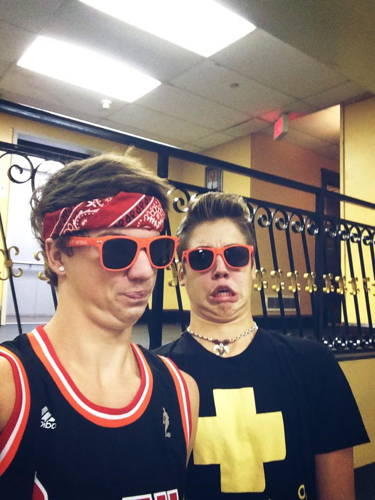 Taylor Caniff and Matthew Espinosa