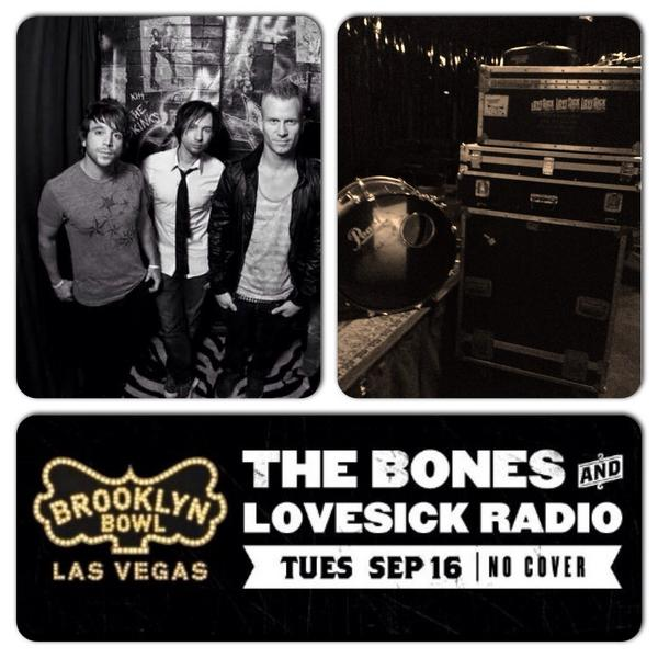 Sept 16th We r playing @brooklynbowl #Vegas w/ The Bones! Here's the event post.Check it out: https://t.co/glKhwbDXhh http://t.co/W8zDGNLlkg