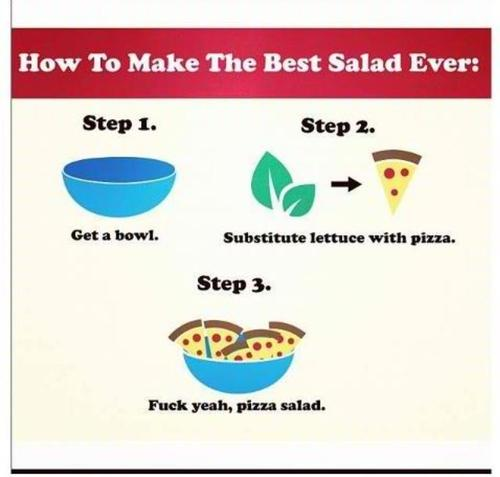 """@MensHumor: Looking for lunch ideas? Here is the best salad ever! http://t.co/AOUBiQvMxn"" this is your kind of salad @sdarnold99"