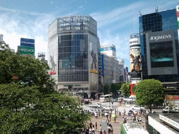 TF渋谷ジャック本日までとの事たったので行ってきました!炎天下でキツかったけどいっぱい写真撮りました!#tfjp http://t.co/GXsxhkXza4