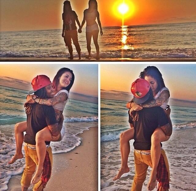 Lesbian relationship goals pictures  16 Cutest Famous