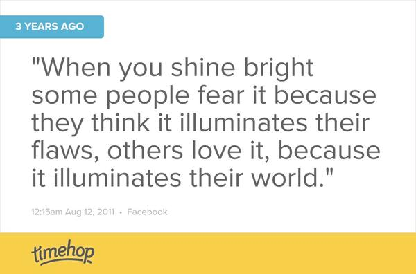 3 Years ago today.  #shine # bright. http://t.co/F1750aMSqC http://t.co/ASO00CcFE1