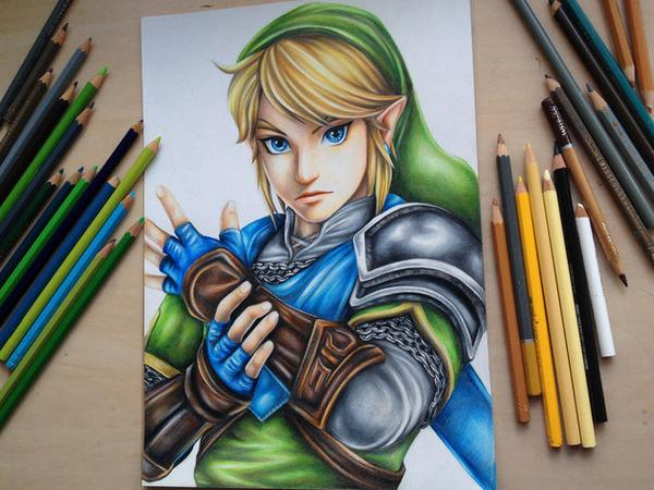 Check out this amazing #HyruleWarriors fan art. Soooo good!  http://t.co/IrRmcraKeN http://t.co/Xfoyl9WIFg
