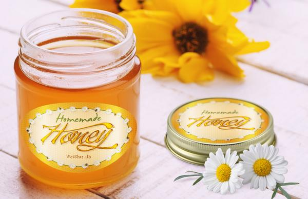 image about Honey Jar Labels Printable referred to as AA Labels upon Twitter: \