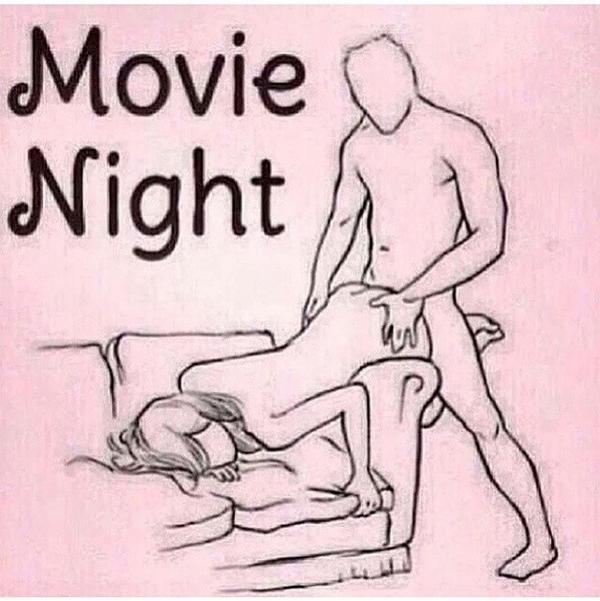 Movie and sex night