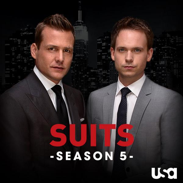 It's a great day to be a #Suitor. Suits has been renewed for a fifth season! RT the good news. http://t.co/10vwQz8C5b