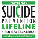 The National Suicide Prevention Hotline is 1-800-273-TALK (8255). Someone will always answer. http://t.co/ku2z1wku8y