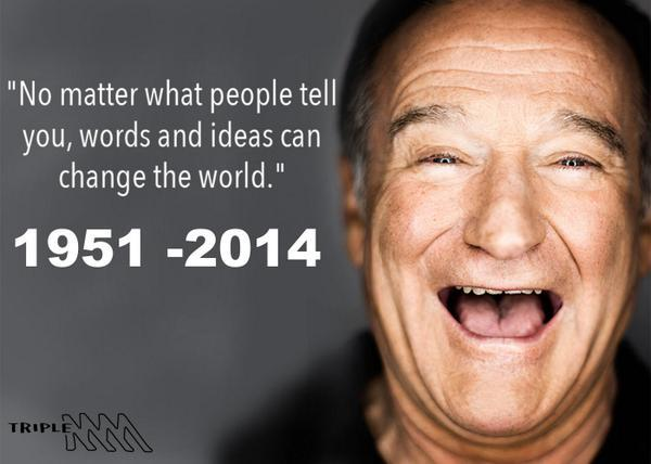 RIP ROBIN WILLIAMS you where a huge part of my childhood http://t.co/j8etojikaC