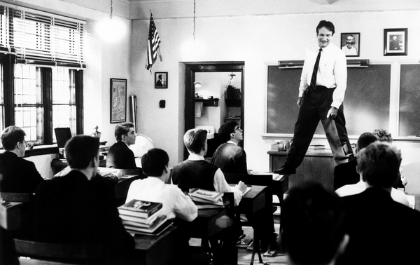 "RIP Robin Williams. ""Carpe, carpe diem, seize the day boys, make your lives extraordinary!"" http://t.co/10AUIasOs0"