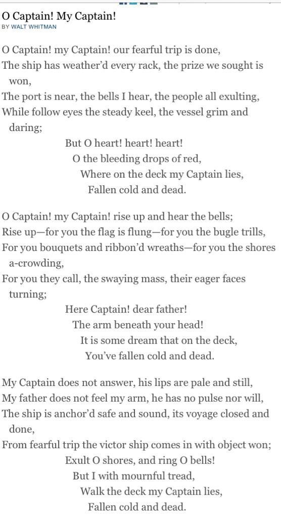 #RobinWilliams #OhCaptainMyCaptain http://t.co/obmS5N8rJW
