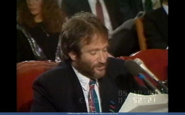 Oh man. RT @cspan: Robin Williams testifies before Senate on Homlessness Prevention in 1990 http://t.co/07UxtvXROf  http://t.co/4o6YNBZWTK