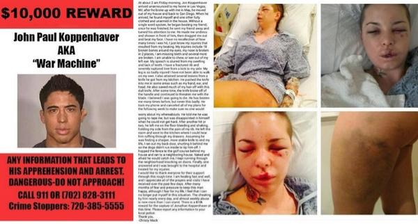 Those in the US please help @ChristyMack - There is never an excuse for #domesticviolence