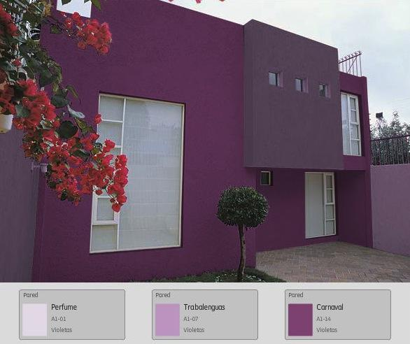 Comex on twitter tambi n las fachadas peque as pueden for Colores exteriores para casas modernas