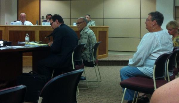 David Jackson, who lives 100 feet from proposed mini mart testifying about diminished quality of life. http://t.co/shnbbFSUqr