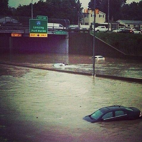 Shit got real in #Michigan today #Detroit http://t.co/pbEZsOYJN3