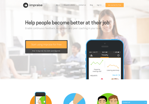 Impraise: Easy continuous feedback at work http://t.co/rhtLYOAQBi via @imfilp on @producthunt http://t.co/qeX0PgmAKt