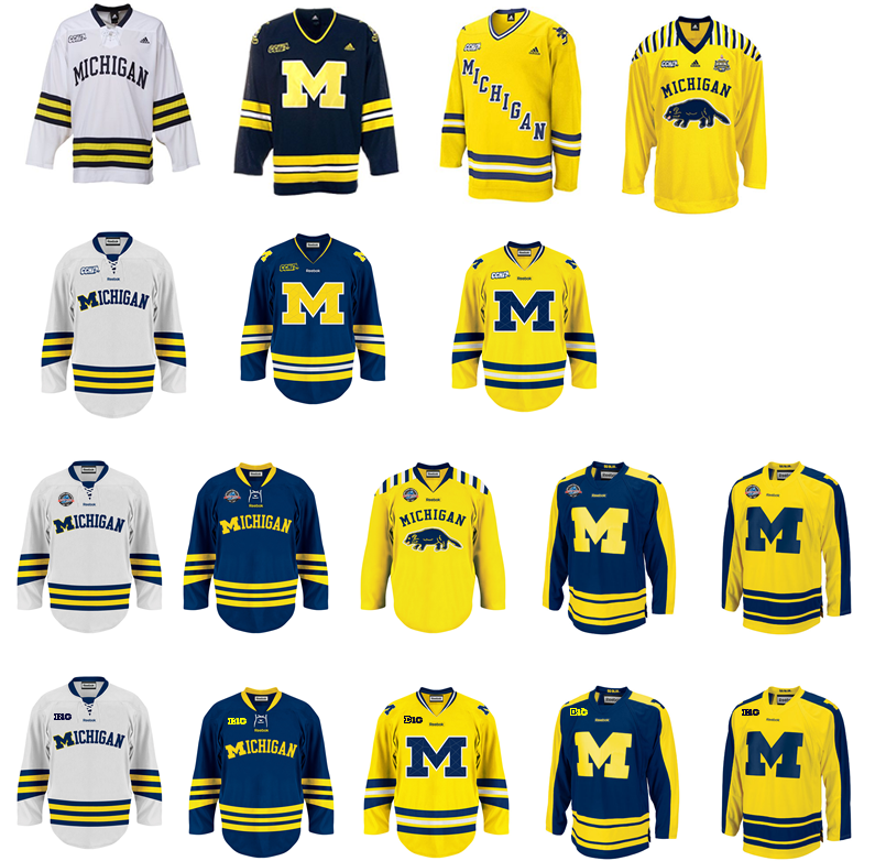 899eceb4d Michigan Hockey unveils yet another new jersey | mgoblog