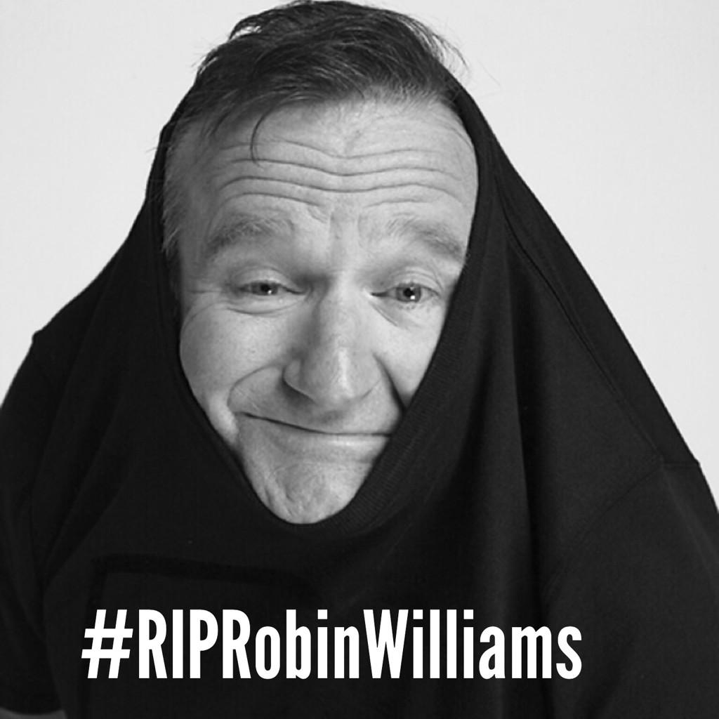 We hav lost 1 of th mst amzing comedy entertainers tht evr lived. My heartfelt condolences 2 th #RobinWilliams family http://t.co/a6NNwGm9Yd