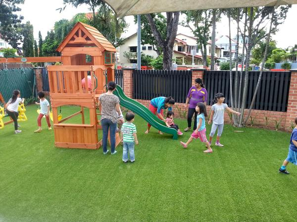 Raffles Montessori On Twitter Outdoor Playground Raffles