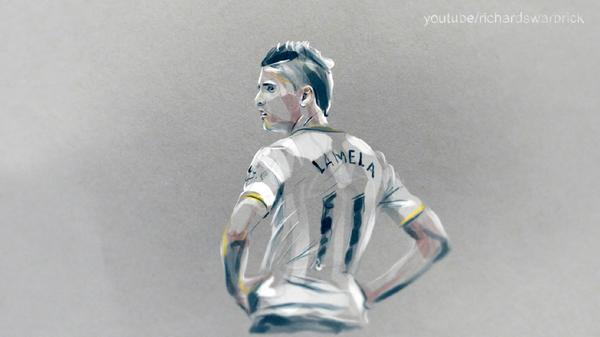 Illustration: Everywhere You Go, Always Take Lamela With You! http://t.co/qy84XxV2dK
