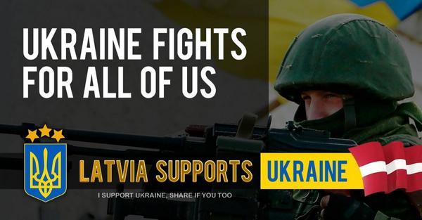 Kad nav citu iespēju, vienmēr ir iespēja paust savu attieksmi. Nenovērtēsim to par zemu. #ukraine #Latvia #freedom http://t.co/uNJqCxFdlJ
