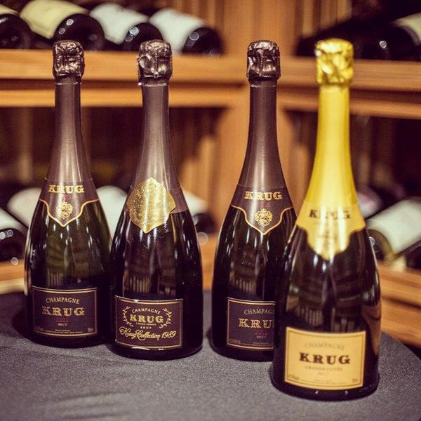 Since 1843, six generations of the Krug family have created the finest and rarest Champagnes. http://t.co/nrV7cbGTkc