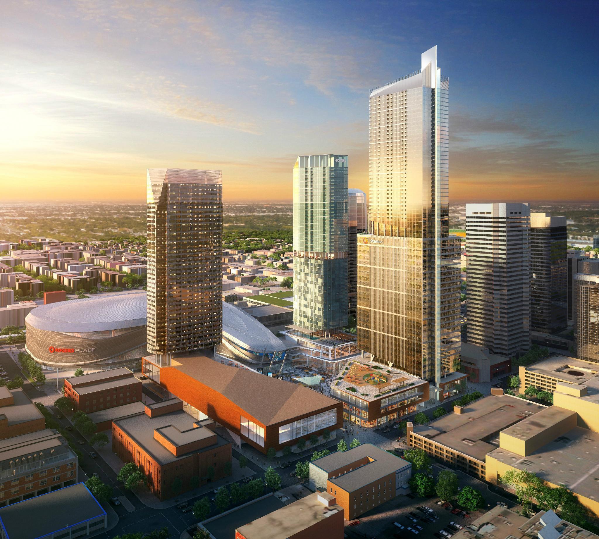 Edmonton Stantec Tower 249m 816ft 66 Fl U C