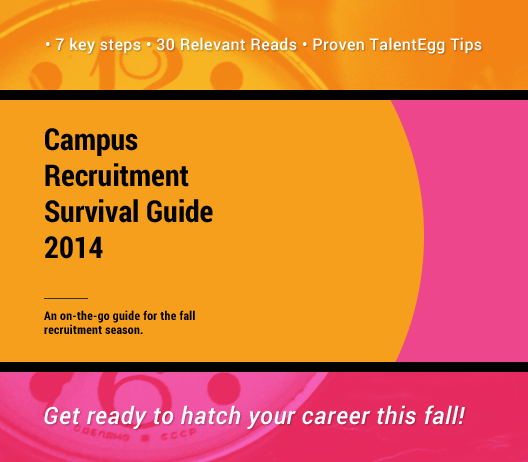 It's finally here! Get your copy of this year's campus recruitment must-read: http://t.co/zsSrL2jnHV http://t.co/jbzaiFpec6