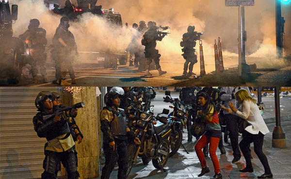 Ferguson: looking more and more like Caracas? @thisisfusion @marianaatencio http://t.co/dlxI4KXvf2 http://t.co/orAK2x3PsU