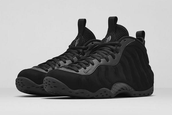 aa7ef10e5be the nike air foamposite one triple black drops this friday in stores and  online details