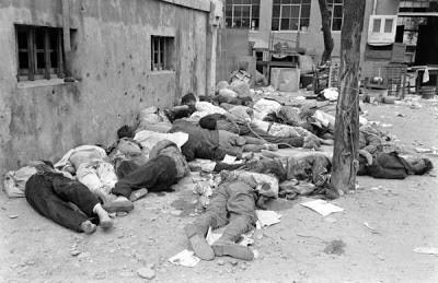"""Bv0jbd1CEAAGFLB - """"Algunas de las masacres de civiles palestinos luego de la fundación del ente sionista de Israel en 1948"""""""