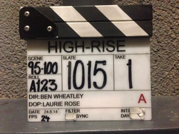 Wrapped. Thanks to an AMAZING cast and crew who made my job a pleasure. Nothing will EVER be the same again #HighRise http://t.co/45jlbJmQ5s